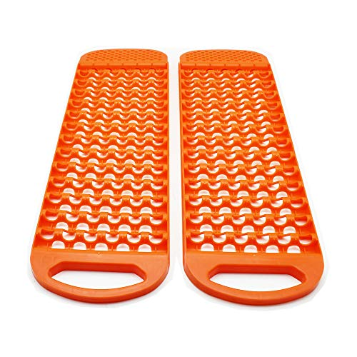 All Weather Automotive Emergency Tire Traction Mat, Winter Traction Mat, Snow Tire Traction By 72HOURS
