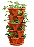 Mr. Stacky TC-1 Planter, Terra Cotta