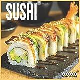 Sushi 2021 Wall Calendar: 16 Months calendar 2021, Tasty Sushi