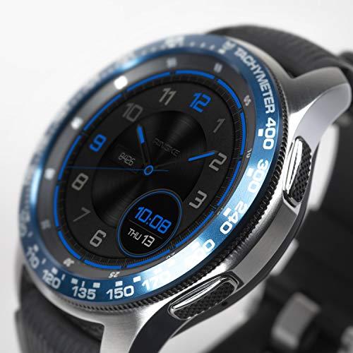 Ringke Bezel Styling pour Galaxy Watch 46mm / Galaxy Gear S3 Frontier & Classic Coque de Boîtier pour Montre Connectée Résistant aux Rayures [Aluminium] GW-46-08