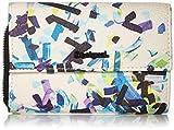 Desigual - Wallet Confetti Alba Women Desigual, Carteras Mujer, Negro, 3x10.5x14 cm (B x H...