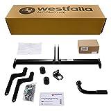 Westfalia Starre Anhängerkupplung – AHK für Dacia Duster I (BJ 03/10-12/17) - Im Set mit 13-poligem fahrzeugspezifischem Elektrosatz