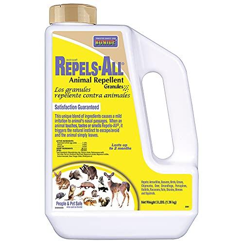 BONIDE PRODUCTS INC (BND2361) Animal Repellent Granules, (3 Lb)