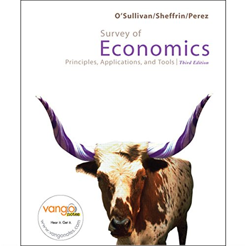 VangoNotes for Survey of Economics, 3/e audiobook cover art
