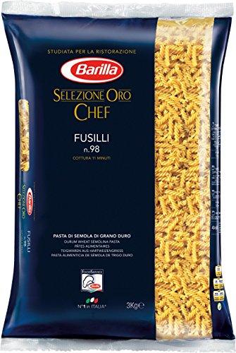 Barilla Selezione Oro Chef Fusilli n.98, 3kg