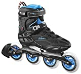 Powerslide Inline-Skate Endurance - Patines en Paralelo, Color Negro, Talla 46