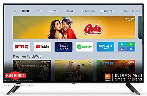Mi 4A 100 cm 40 Inches Full HD Android LED Smart TV (Black)