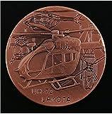 ZKPNV Monedas Conmemorativas Ejército De EE. UU. Uh-72 Lakota Air Force Moneda Conmemorativa Desafío Militar Regalos Coleccionables