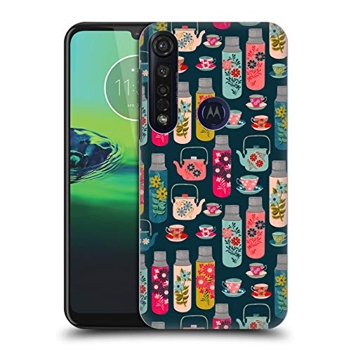 Officiële Andrea Lauren Design Thermoskan Voedsel Patroon Hard Back Case Compatibel voor Motorola Moto G8 Plus