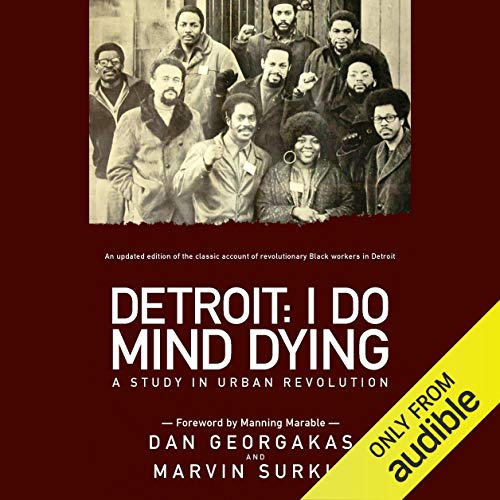 Detroit: I Do Mind Dying audiobook cover art