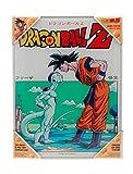 Dragon Ball Z - Frieza x Goku - Glass Poster 30 x 40 cm