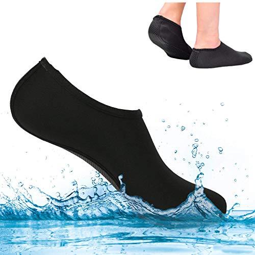 SEALEN Snorkel Scuba Diving Aletas de Agua de Corte Bajo contra Zapatos...
