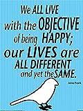 Buyartforless Anne Frank Inspirierende Zitat von Kelissa