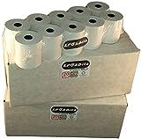 EPOSBITS® 40 rollos de recibos – 2 cajas para Casio 120 130 160 240 CR