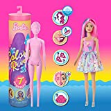 Barbie Color Reveal Doll with 7 Surprises, 1
