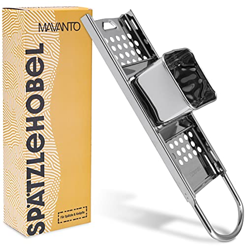 MAVANTO® Râpe à spaetzle en INOX pour spaetzle et knepfle Fa
