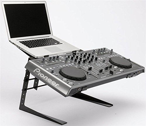 CedarsLink Heavy Duty Studio Controller And Laptop Computer DJ Rack Stand Mount