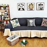 Zairmb Espesar Moderna Funda Cubre Sofá Funda de sillón Elástica para Niños Mascotas Funda de sofá Antideslizante No es fácil desvanecerse Conciso Lavable-90x200cm A