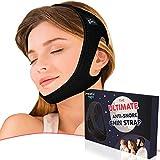 Snoring Chin Strap - Premium Anti Snore Chin Strap - Adjustable Chin Strap for Snoring - Perfect Snoring Solution