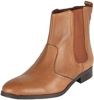 SaltnPepper11-590 Juliet Cognac Leather Boots