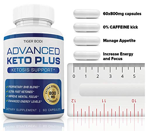 Keto Advanced Weight Loss, Advanced Keto Plus Keto Advance - Advanced Keto Diet Pill Fast Burner Supplement for Energy - BHB Ultra Boost Exogenous Ketones for Rapid Ketosis for Men Women 2