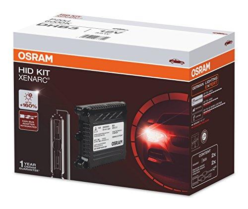 Osram DHB3 Xenon 6000K Eco HID Conversation Headlight Bulb Kit (12V, 35W)