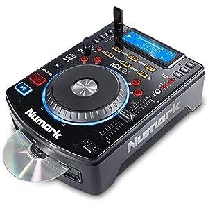 Numark NDX500 - Lettore CD USB Indipendente e Console DJ con Jog Wheel Sensibile al Tocco, Scheda Audio, Controlli di Pitch e Pre-Mappatura per Serato DJ