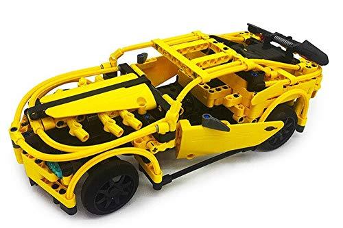 Modbrix Technik Bausteine 2,4 Ghz RC Auto Camaro, 419 Technic Teile
