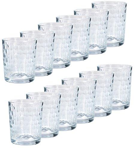 GRÄWE Trinkglas Wasserglas FLACH 12 Stück 200 ml