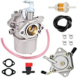 Toolyuan 1016438 Carburetor Kit for Club Car DS FE290 Kawasaki Engine Gas Golf Cart 1992-1997 Replace 1016478 1016441 1016439 1016440 with Fuel Pump