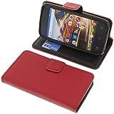 foto-kontor Tasche für Archos 40 Neon Book Style rot