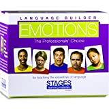 Stages Learning Materiali Lingua Builder Emotion Picture Card Espressioni, Conversazione, e Situazione Photo Cards per l'autismo educazione, Terapia ABA
