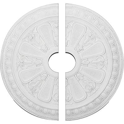 Ekena Millwork 23 1/2-Inch OD x 3 7/8-Inch ID x 1-Inch P Bristol Ceiling Medallion