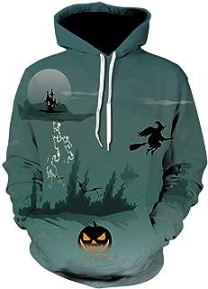YOCheerful Print Sweatshirt Men Women Mode 3D Long Sleeve Shirts Halloween Couples Hoodies Top Autumn Winter Blouse Shirts