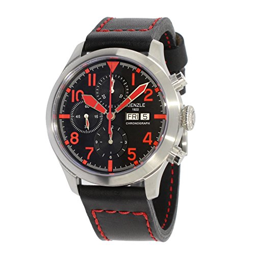 KIENZLE Uhr Chronograph ETA Analog mit Leder Armband K17-00325