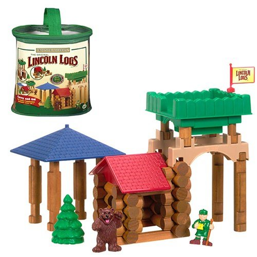 K'NEX Frontier Lookout Lincoln Logs