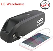 Ebike Battery 48V 13AH Lithium Battery with Charger, USB Port& Safe Lock, Electric Bike Battery for 1000W/750W/500W/250W Motor (US Warehouse)