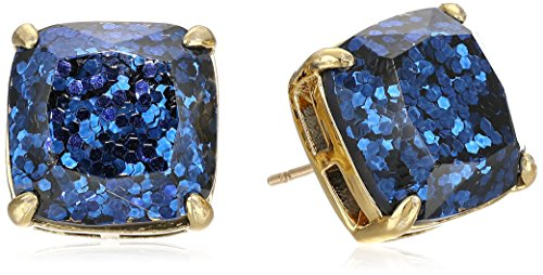 kate spade new york Small Square Navy Stud Earrings