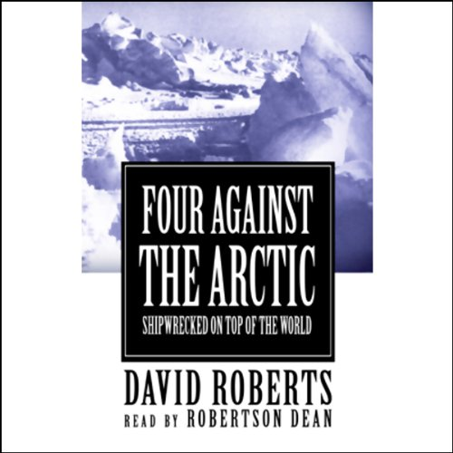 Four Against the Arctic audiobook cover art