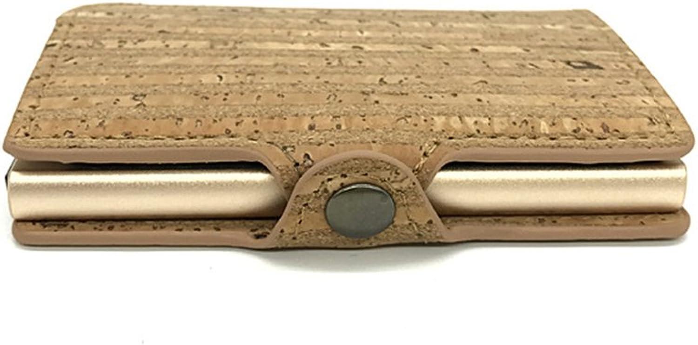 dd51420d57e6e Sensexiao Multifunktionale PU PU PU Doppel Box Metall Kartenetui ...