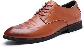 Dingziyue - Scarpe casual da uomo, traspiranti, scarpe da uomo, colore: marrone, taglia 42