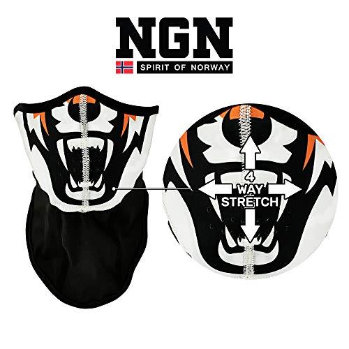 NGN Skibril, snowboardbril, uv-bescherming, magnetisch, gespiegeld, skibril voor dames en heren, anti-condens, compatibel met helm, skibril, uniseks