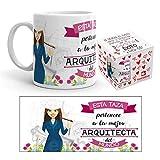Kembilove Arquitecta Tazas Originales de café y Desayuno para Regalar a...
