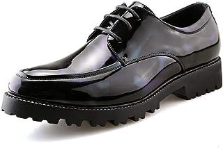 [MUMUWU] メンズシューズ カジュアル 柔軟 ビジネス 消臭 軽量 耐摩耗 シンプル 革靴 ファッション ビジネスシューズ