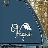 Dozili - Adhesivo de vinilo vegano para decoración del hogar, coche, camión, ventana, calcomanía para añadir a la lista de relojes, accesorios para coche, casco de moto, coche, coche, 6 cm