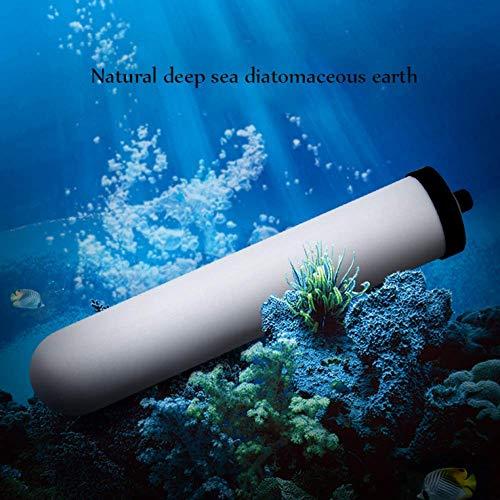 Filtro de agua del grifo, grifo de la cocina de la capa de agua del filtro Tap, Tap Purificador de agua interruptor de filtro, de fácil instalación - Se ajusta grifos estándar, StainlessSteel QIANGQIA