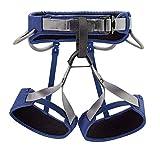 PETZL - CORAX LT Climbing Harness, Blue, Medium (30-33 in)