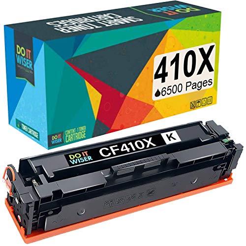 Do it wiser kompatible Toner als Ersatz für HP CF410X CF410A HP 410X Color Laserjet Pro MFP M477fdw M477fdn M477fnw M452dn M452dw M452fdn M377dw (Schwarz)