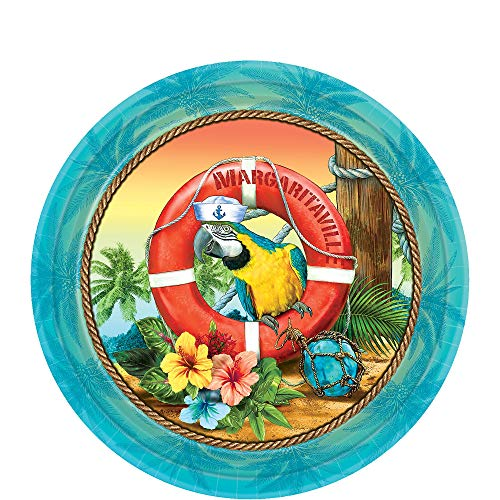 Learn More About amscan 741952 Margaritaville Party Plates 7, 18Ct