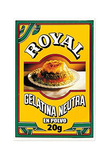Royal Gelatina Neutra en Polvo para Elaboraciones Caseras, 20g